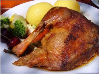 Greek Roast Leg of Lamb