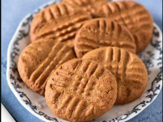 Маслени бисквити с три съставки