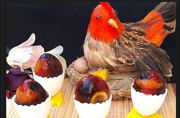Готино и вкусно - плодови яйца за Великден