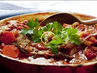 Italian Veal & Pepper Stew