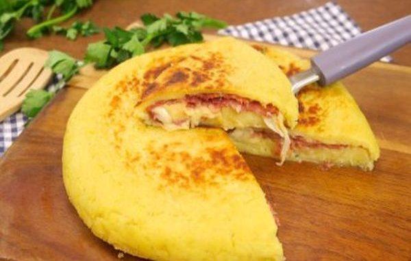 Картофена пица рецепта