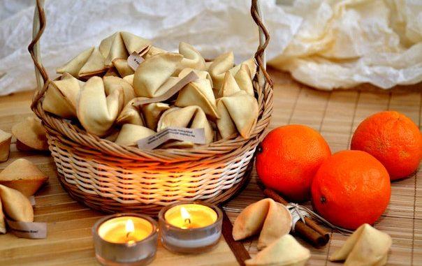 Китайски курабийки с късмети рецепта