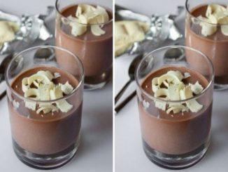 Рецепта за панакота с шоколад
