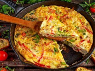 Фритата рецепта за омлет по италиански