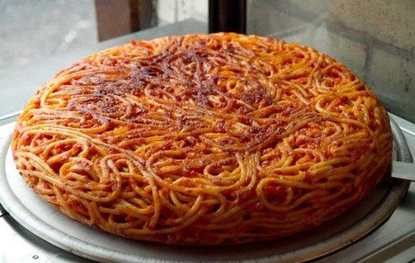 Рецепта от италианската кухня фритата ди спагети