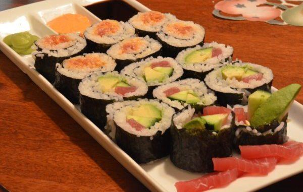 Как се прави домашно суши