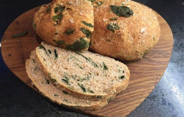 Рецепта за постен веган хляб с коприва