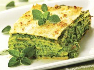 Рецепта за Вегетарианска лазаня със спанак