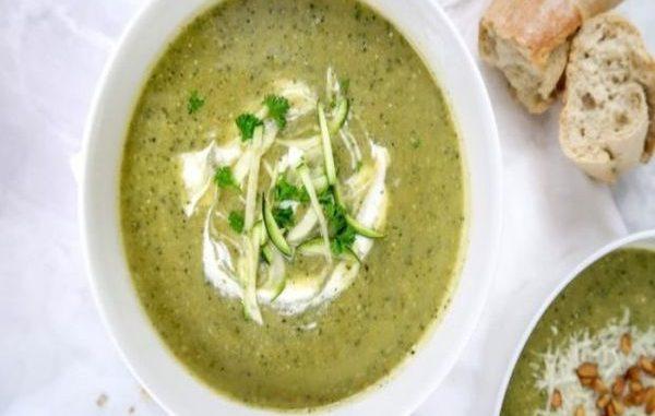 Най лесната рецепта за крем супа от тиквички