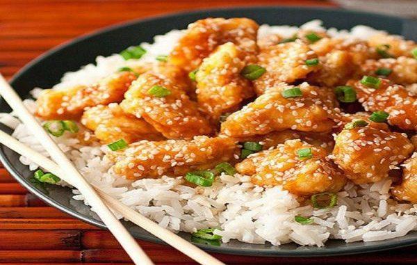 Рецепта с пилешко месо, мед и сусам