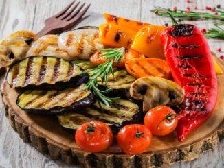 Зеленчуци на скара с марината по стара кръчмарска рецепта
