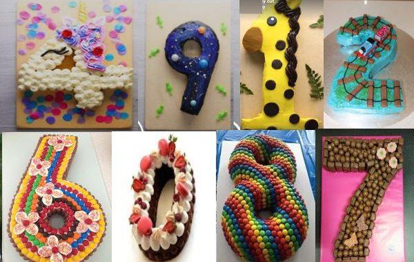 Как се прави лесна торта цифра за детски рожден ден