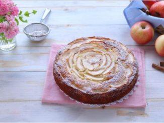 Ябълков сладкиш с маскарпоне