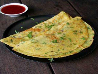 Фалшив вегетариански омлет без яйца рецепта