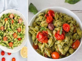 Постни макарони с песто от авокадо рецепти