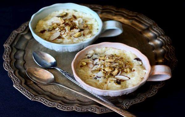 Кхийр – мляко с ориз по индийски или индийски сютляш