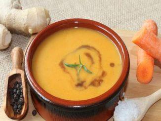 Крем супа от джинджифил и морков за 20 минути