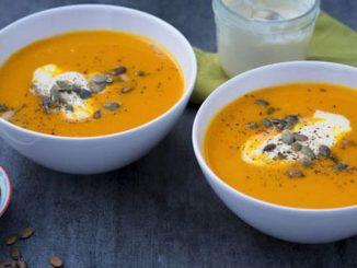 Бърза крем супа от тиква