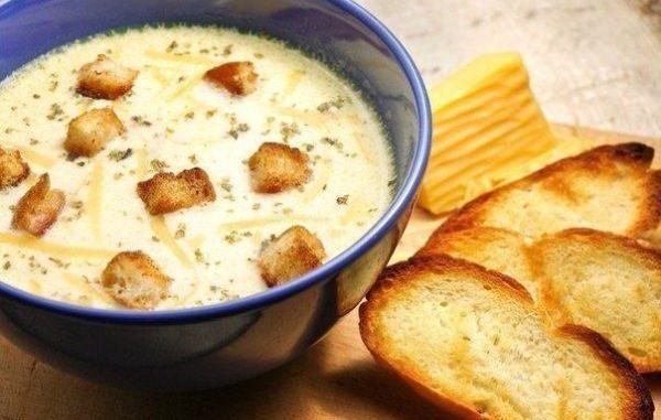 Френска супа със сирене рецепта