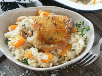 Пиле с ориз по една различна и още по-вкусна рецепта