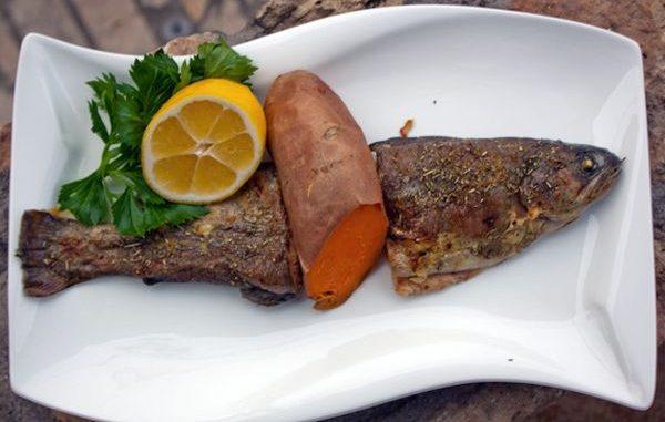 Как се приготвя риба във фолио