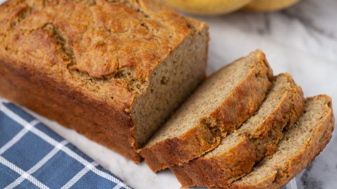 Здравословен хляб от стари банани