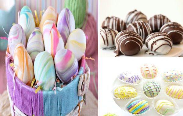 Великденски яйца орео - орео трюфели