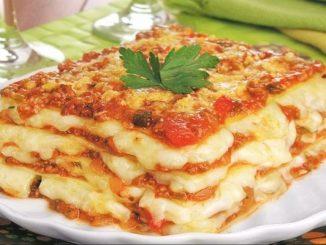 Лазаня Болонезе с 4 сирена рецепта