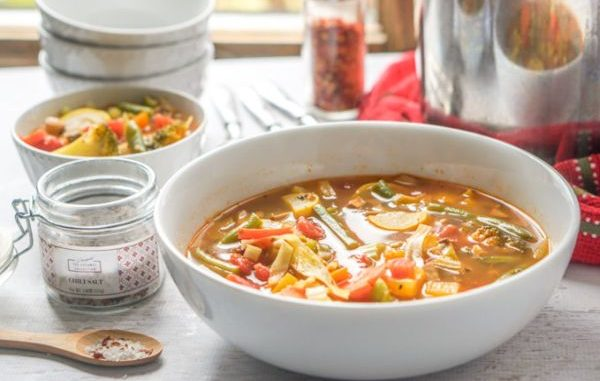 """Бърза зеленчукова супа """"Витамина"""""""