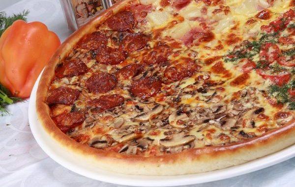 Рецепта за пица четири сезона
