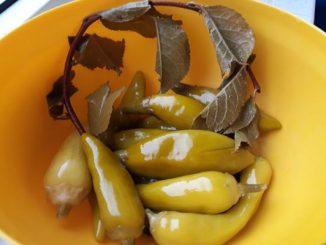 Мариновани люти чушки рецепта