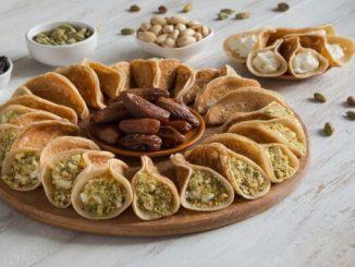 Арабски палачинки с крема сирене