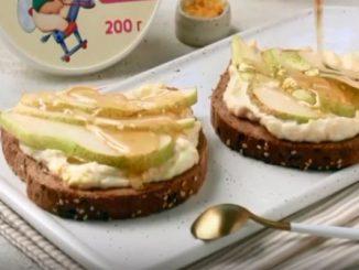 Сандвичи с рикота, куши и бадеми