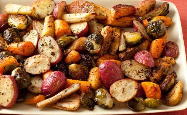 Зеленчуци на фурна – проста, но съвършена гарнитура или ястие за пости