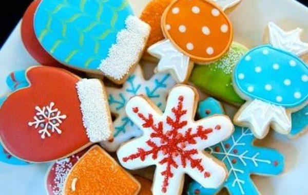 Коледни бисквити с дълга трайност