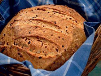 Домашен лучен хляб