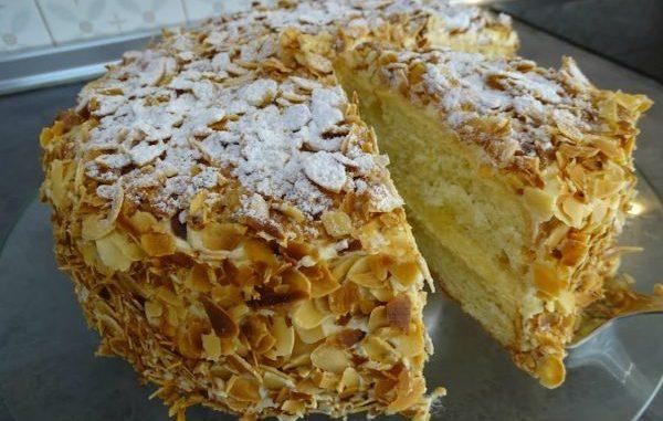 Торта Сара Бернар рецепта