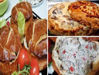 Бохча - рецепта за пълнен хляб