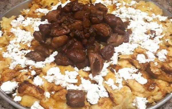 Качамак с пръжки рецепта