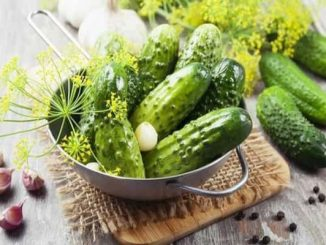 Туршия от краставички в плик рецепта